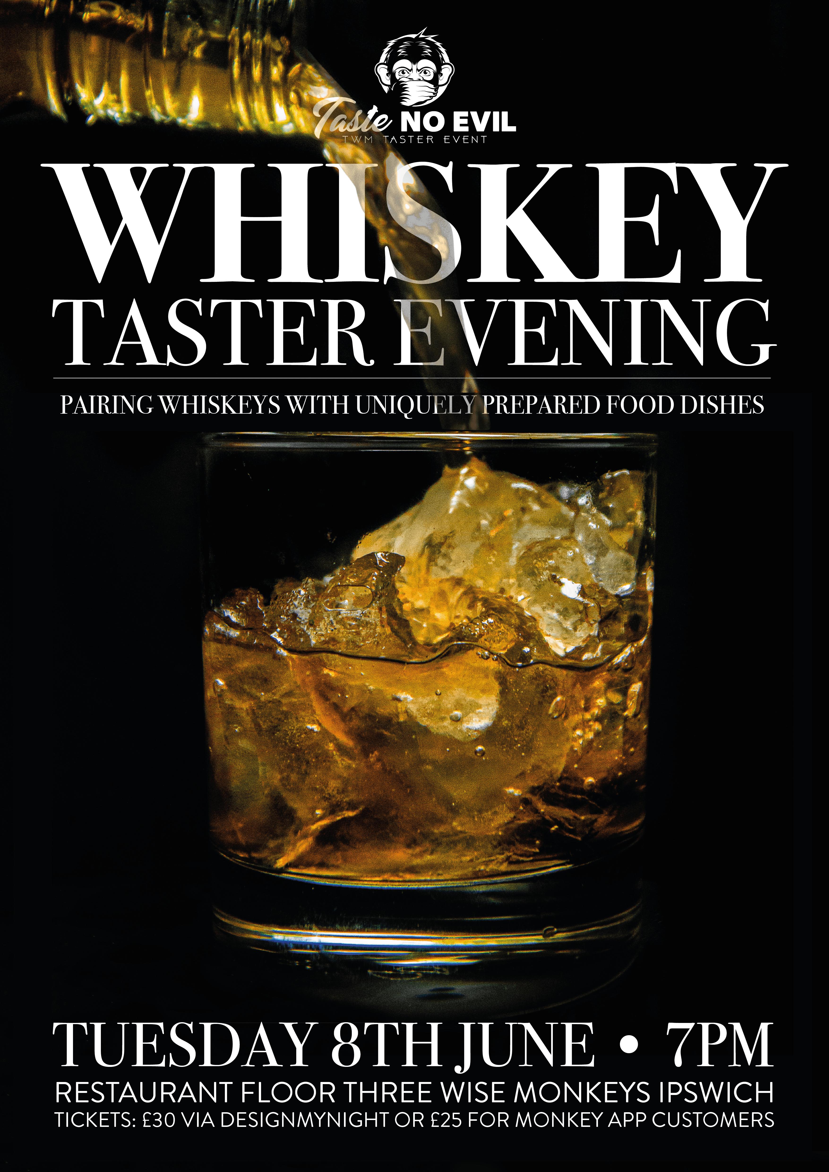 Whiskey Taster Evening